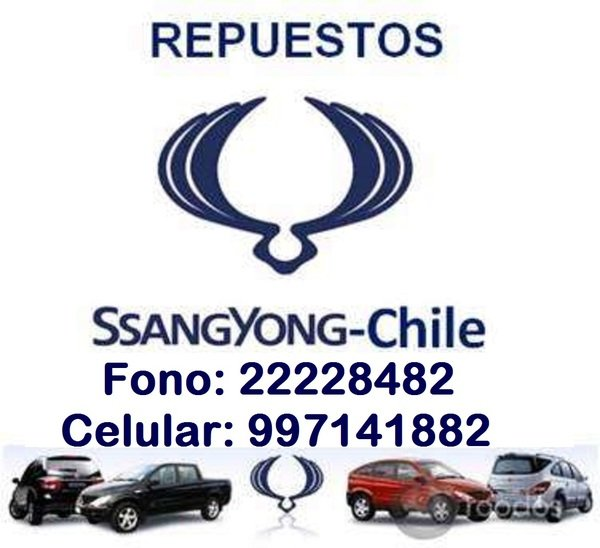 Repuestos Ssangyong Chile