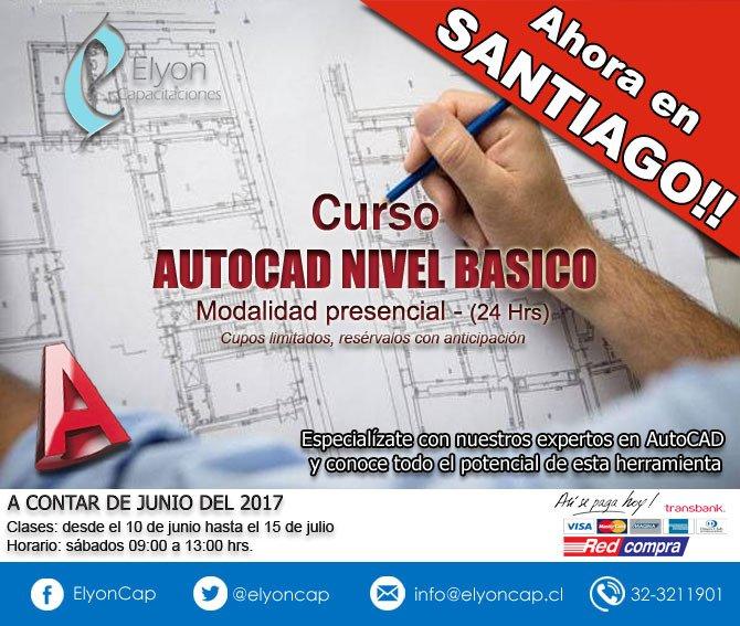 Curso AutoCAD Santiago - Últimos cupos