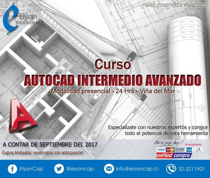Curso AutoCAD Intermedio Avanzado - Viña del Mar