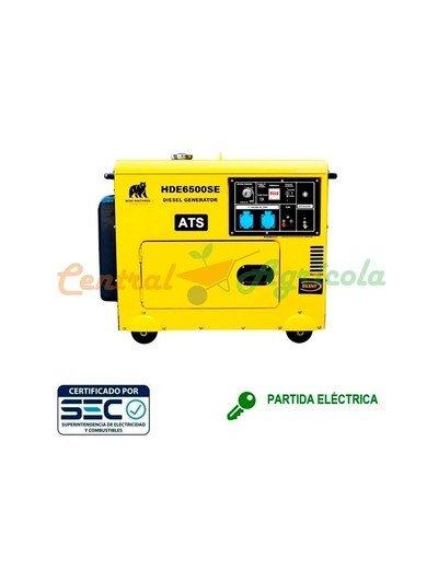 Generador Diésel Monofásico 5 KVA 220V